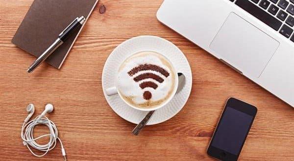 Wi-fi na loja